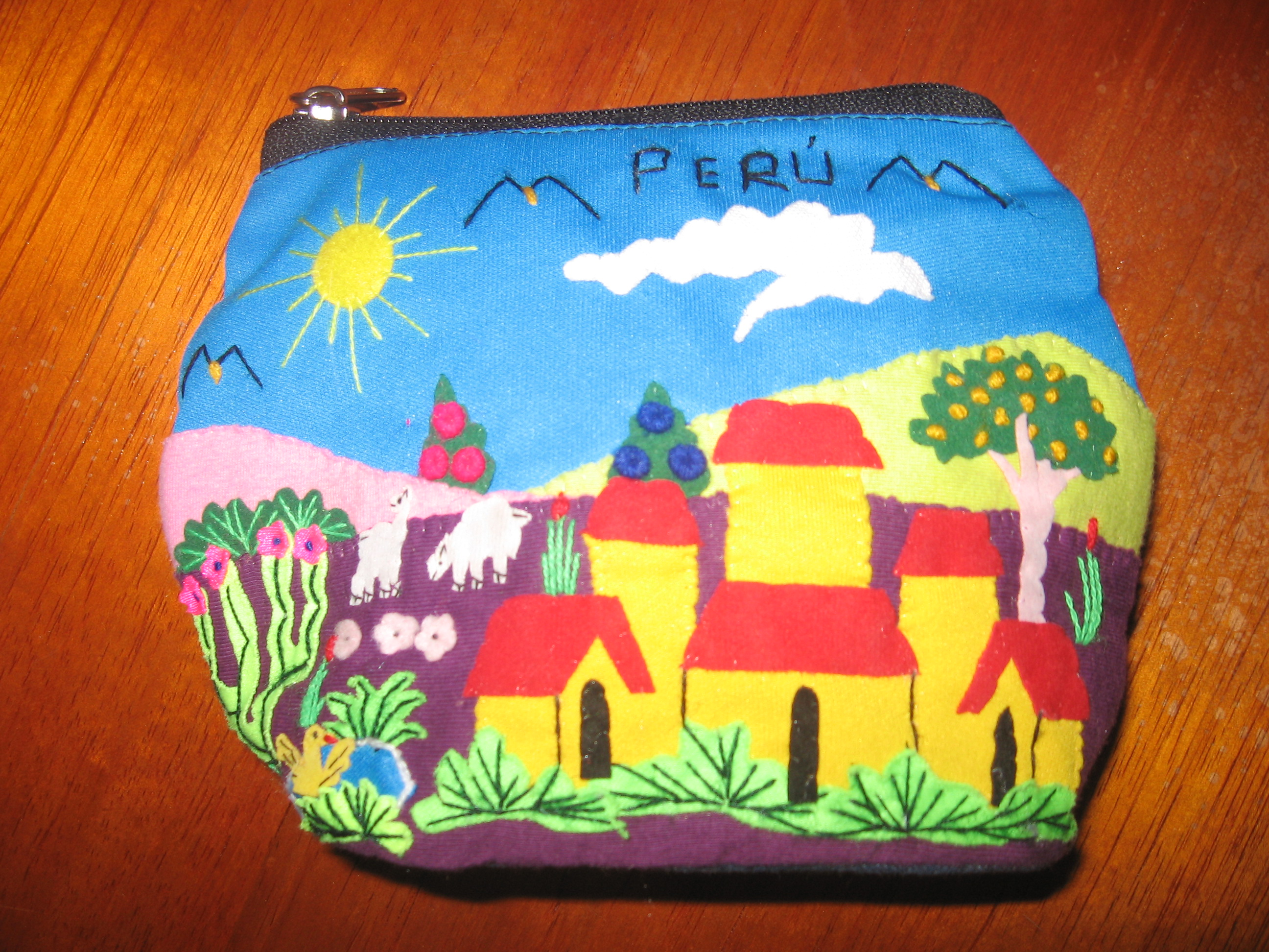 De ramos handicrafts little coin bag lima professional for How to be a professional shopper
